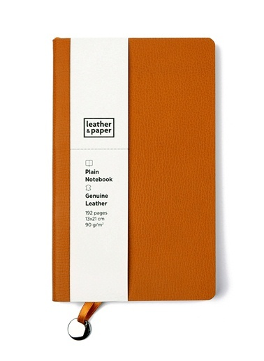 Flotter Deri Defter 13x21-Leather & Paper
